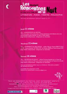 Festival Les Rencontres de la Nuit 2020